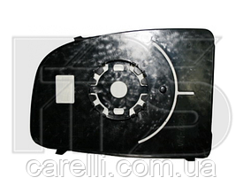 Вкладыш зеркала левый без обогрева верхний Boxer 2006-14
