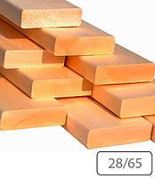 Полок термоосина 28х65 для бани и сауны