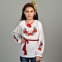 Вишита сорочка-вишиванка на дівчинку