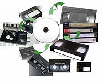 С видеокассеты на диск
