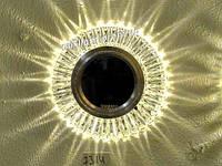 Встраиваемый точечный светильник светодиодный круглый Feron