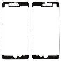 "Рамка для дисплея iPhone 7 4.7"" з термоклеєм (Black)"