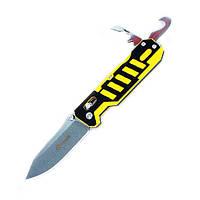 Нож Ganzo G735-YB, черно-желтый