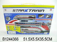 Игрушка железная дорога на батарейках.