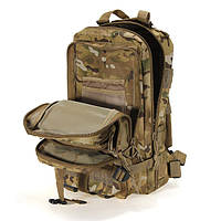Новый Тактический Штурмовой Военный Рюкзак 25л Oxford 600D + Подарок! 25.0, Система подвески Molle, Германия, мультикам