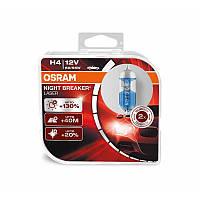 Лампы  Osram H4 NIGHT BREAKER LASER +130%