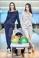 Стильный спортивный костюм для девушек Doriya 42–48р. в расцветках.