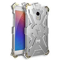 Чехол накладка бампер Simon Thor для Meizu M3s серебристый