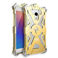 Чехол накладка бампер Simon Thor для Meizu M3s золотистый