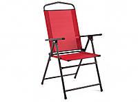 Кресло   MADERA 52х64х104 см металлическое   красное