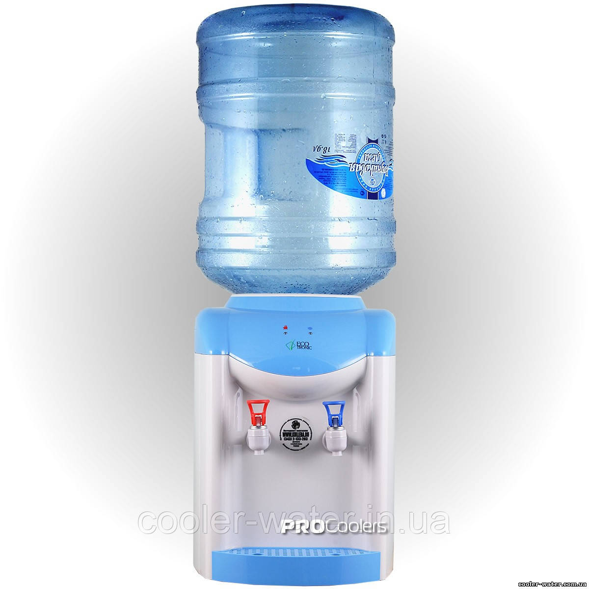 Кулер для воды Ecotronic K1-TE Blue