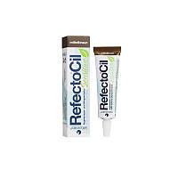RefectoCil Sensitive Eyelash & Eyebrow Tint Medium Brown. Медно-коричневый