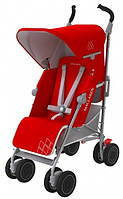 Коляска TECHNO XT, Cardinal/Silver, колір червоний/сірий