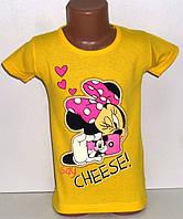 Детская одежда оптом.Футболка для девочек 4,5,6 лет