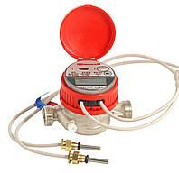 Лічильник тепла GROSS WMZ-UA 15 (+ згін і кран кульовий)
