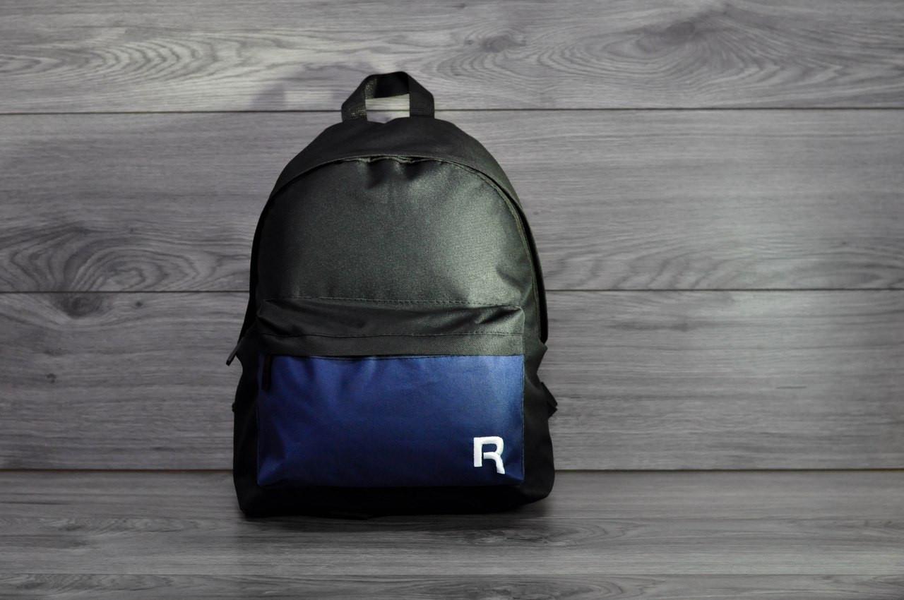 Рюкзак Reebok (черно-синий)