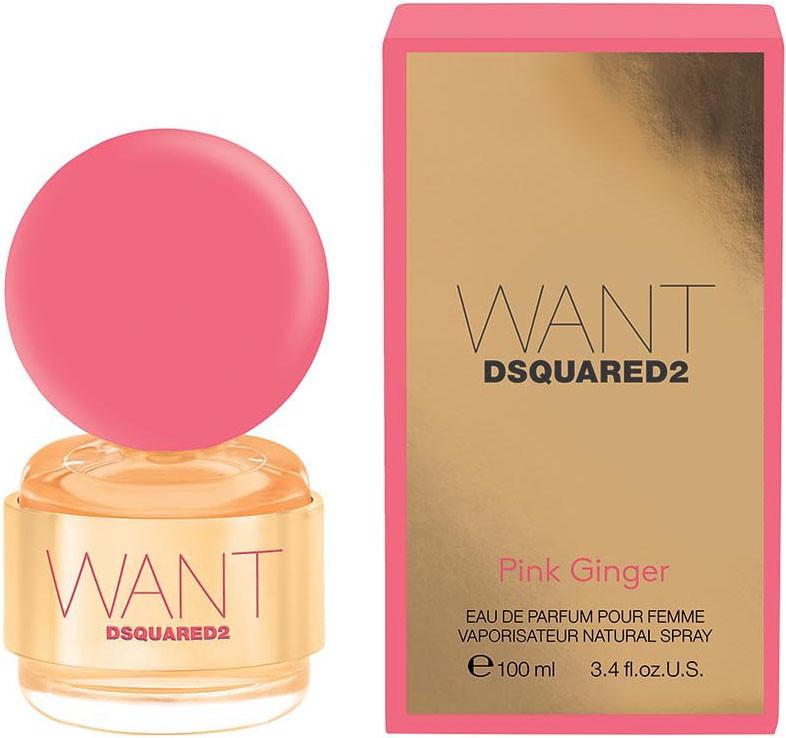 Dsquared²   Want Pink Ginger   50ml женская парфюмированная вода (оригинал)