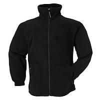 Куртка флисовая черная POLAIR. р. XXL (56-58)