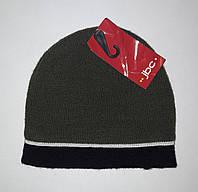 Детская шапка для мальчика Хаки с покладкой JBC