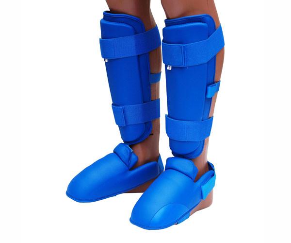 Защита ног (Щитки) Firepower FPNN Синие