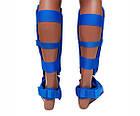 Защита ног (Щитки) Firepower FPNN Синие, фото 2