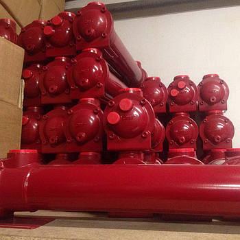 Водяной теплообменник OMT SA081-560-L4