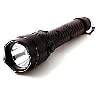 Электрошокер Cobra 1106: 100 000 кВ, фонарик с XPE диодом и 3 режимами работы, 238х38х35 мм