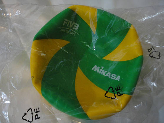 Мяч волейбольный MIKASA MVA390CEV оригинал, фото 3