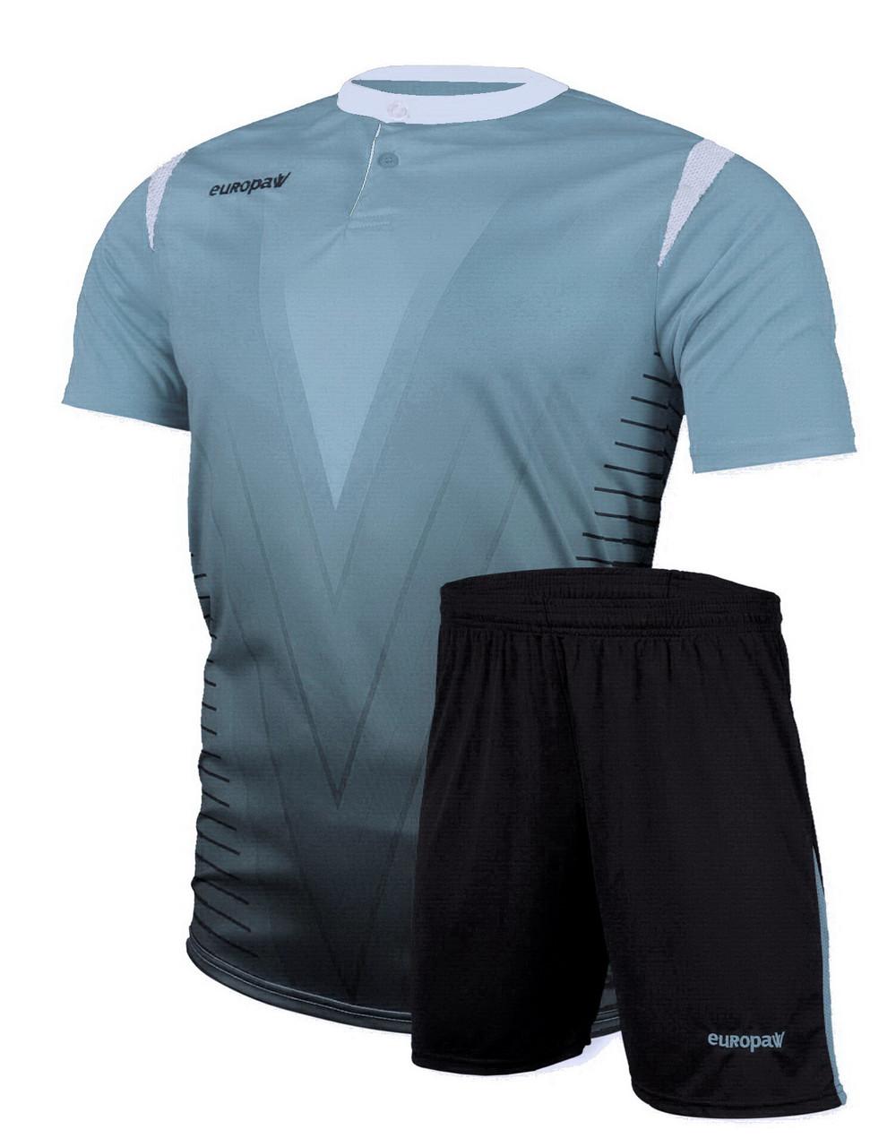 Футбольная форма Europaw 011 голубая