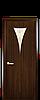 Дверь межкомнатная БОРА СО СТЕКЛОМ САТИН И РИСУНКОМ  №1 ПВХ, фото 2