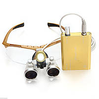 Бинокуляры стоматологические с подсветкой 3,5Х