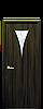 Дверь межкомнатная БОРА СО СТЕКЛОМ САТИН И РИСУНКОМ №3 Экошпон, фото 3