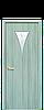 Дверь межкомнатная БОРА СО СТЕКЛОМ САТИН И РИСУНКОМ №3 Экошпон, фото 4