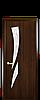 Дверь межкомнатная КАМЕЯ СО СТЕКЛОМ САТИН И РИСУНКОМ Р3 ПВХ, фото 2