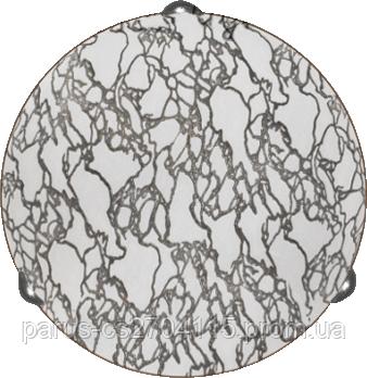 Настенно – потолочный светильник Д-400, 3х60 Вт, Е 27, Серебро
