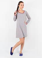 Красивая серая рубашка для женщин (в размере S - 2XL), фото 1