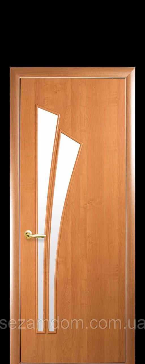 Дверь межкомнатная ЛИЛИЯ СО СТЕКЛОМ САТИН