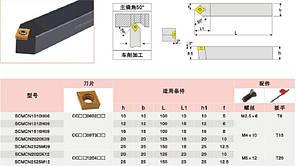 SCMCN1212H09 Резец проходной  (державка токарная проходная) , фото 2