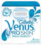 Лезвия Бритвы Кассеты для Станка Gillette Venus Proskin-4