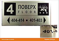 Табличка для гостинницы