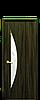 Дверь межкомнатная ЛУНА СО СТЕКЛОМ САТИН И РИСУНКОМ  Р3 Экошпон, фото 3