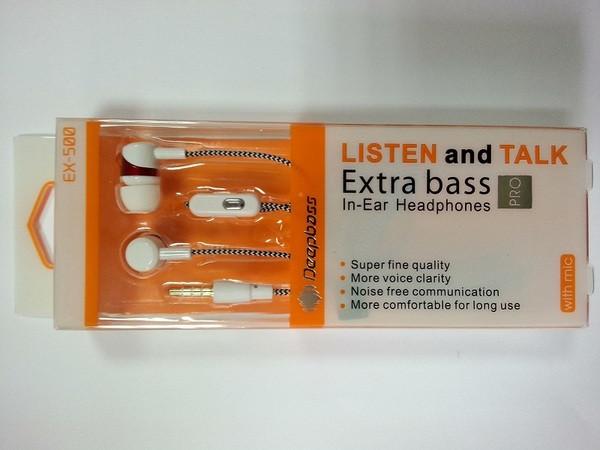 Навушники DEEPBASS EX-500