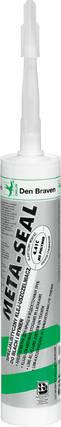 Клей-герметик профессиональный для кровли и водосточных систем Metal-Seal 290ml Den Braven, фото 2