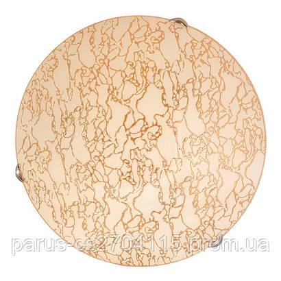 Настенно – потолочный светильник Д-400, 3х60 Вт, Е 27, золото
