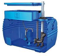 Канализационная станция  Blue Box с измельчителем (20м. 18 куб/ч)