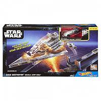 Игровой Hot Wheels Star Wars Атака имперского крейсера DPV37