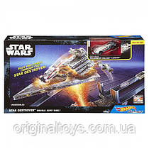 Трек Hot Wheels Star Wars Атака имперского крейсера DPV37
