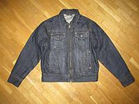 Куртка NO EXCESS NEBRASKA, утеплена, джинс. M, как НОВАЯ!!!