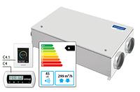 Domekt-CF-250-F-HW/DH вентиляционная установка с высокоэффективным пластинчатым теплоутилизатором