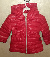 Куртка девочка весна-осень Бантик, 92-134р.